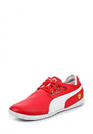 Кроссовки Puma. Цвет: красный