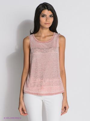 Топ New Look. Цвет: бледно-розовый