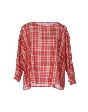 Блузка A.B APUNTOB. Цвет: красный