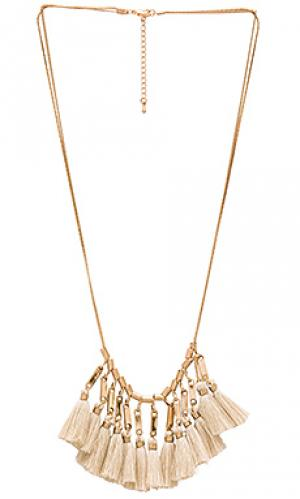 Chelsea bib necklace 8 Other Reasons. Цвет: metallic gold