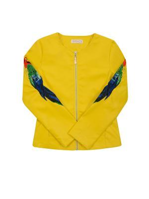 Куртка De Salitto. Цвет: желтый