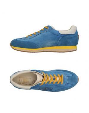 Низкие кеды и кроссовки D'ACQUASPARTA. Цвет: пастельно-синий