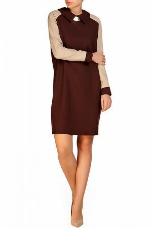 Платье Rocawear. Цвет: коричнево-бежевый