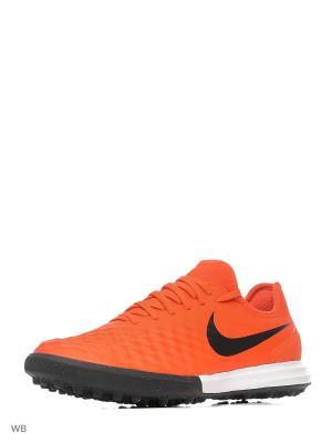 Шиповки MAGISTAX FINALE II TF Nike. Цвет: оранжевый