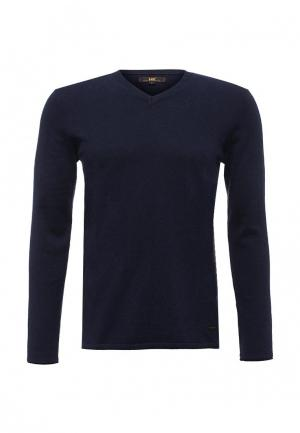 Пуловер Lee. Цвет: синий