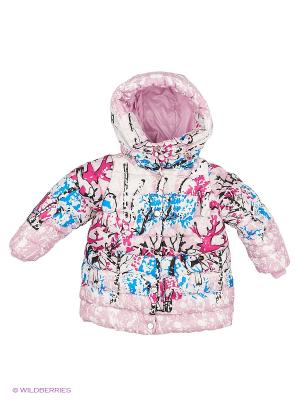 Пальто BOOM. Цвет: розовый