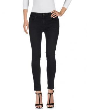 Джинсовые брюки 6397. Цвет: черный