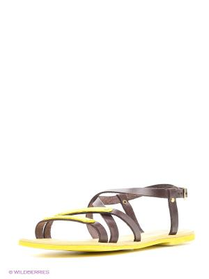 Сандалии El Tempo. Цвет: коричневый