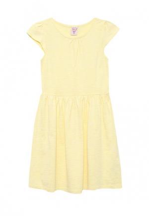 Платье Sela. Цвет: желтый