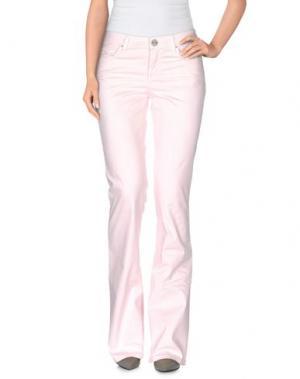 Повседневные брюки SEVEN7. Цвет: светло-розовый