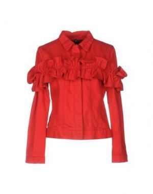Джинсовая верхняя одежда SIMONE ROCHA X J BRAND. Цвет: красный