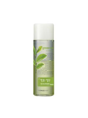 Средство для снятия макияжа с губ и глаз PHYTO POWDER (зеленый чай),100мл The Face Shop. Цвет: прозрачный