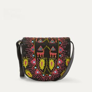 Сумка SAPORTA SMALLBAG ANTIK BATIK. Цвет: черный