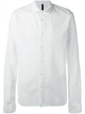 Классическая рубашка Poème Bohémien. Цвет: белый
