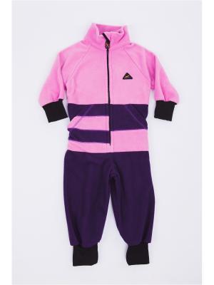 Комбинезон ЛисФлис. Цвет: фиолетовый, розовый