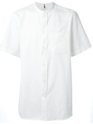 Рубашка с короткими рукавами Oamc. Цвет: белый