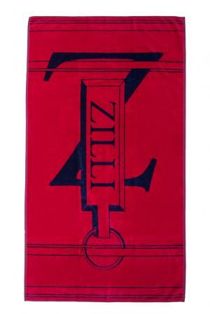 Полотенце из хлопка 158116 Zilli. Цвет: красный