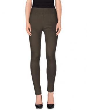 Повседневные брюки NVL__NUVOLA. Цвет: темно-зеленый