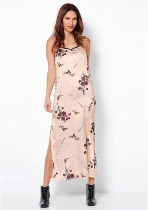 Платье Venca. Цвет: розовый (перламутрово-розовый)