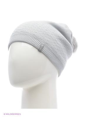 Роксана Беркле шапка женская с помпоном Berkle. Цвет: серый