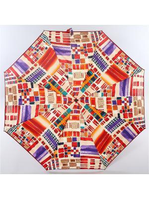 Зонт Zest, 3 слож, ПолнАвто, П-Э Zest. Цвет: сливовый, бордовый, темно-бежевый