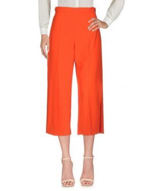 Повседневные брюки ELISABETTA FRANCHI 24 ORE. Цвет: красный