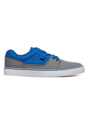 Кеды DC Shoes. Цвет: серый, белый, голубой