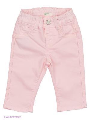 Джинсы United Colors of Benetton. Цвет: бледно-розовый, розовый