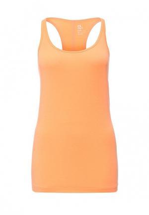 Майка спортивная Gap. Цвет: оранжевый