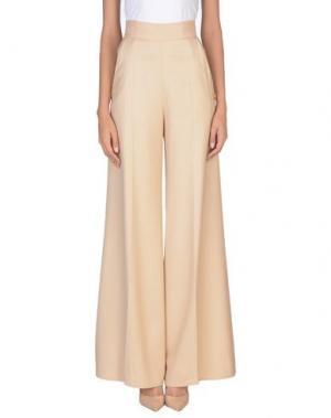 Повседневные брюки ELISABETTA FRANCHI 24 ORE. Цвет: песочный