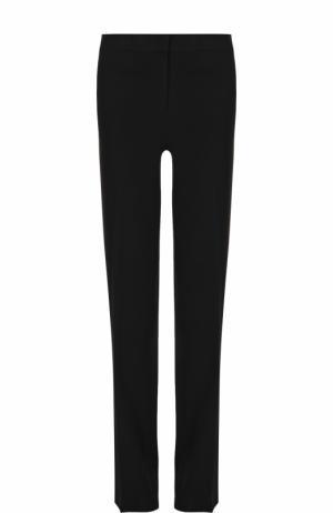 Однотонные расклешенные брюки со стрелками MICHAEL Kors. Цвет: черный