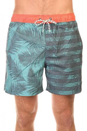 Шорты пляжные  Gemini Layback 16 Steel Billabong. Цвет: голубой