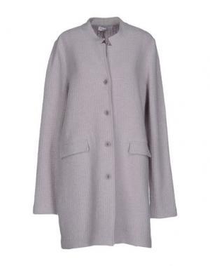 Легкое пальто AMINA RUBINACCI. Цвет: светло-серый
