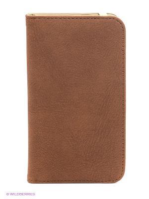 Чехол для Samsung S5 WB. Цвет: коричневый