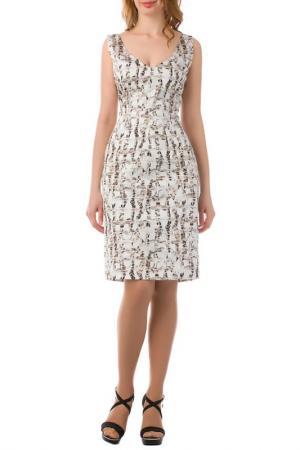 Платье JOELLE JO'ELLE. Цвет: белый