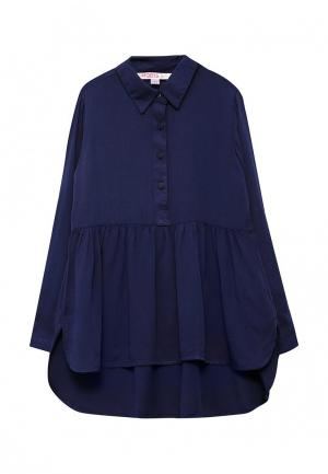 Блуза Modis. Цвет: синий