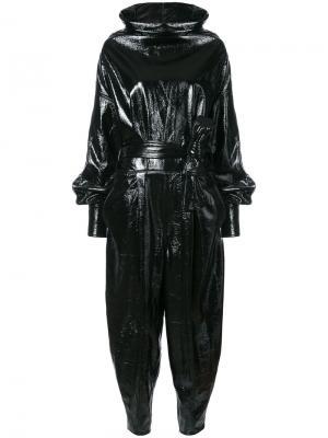 Vinyl jumpsuit Wanda Nylon. Цвет: чёрный
