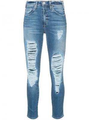 Distressed jeans Mcguire Denim. Цвет: синий