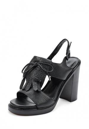 Босоножки Just Couture. Цвет: черный