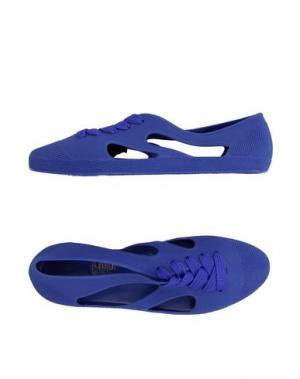 Низкие кеды и кроссовки F-TROUPE. Цвет: фиолетовый