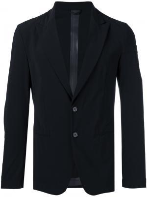 Single-breasted blazer Hydrogen. Цвет: чёрный