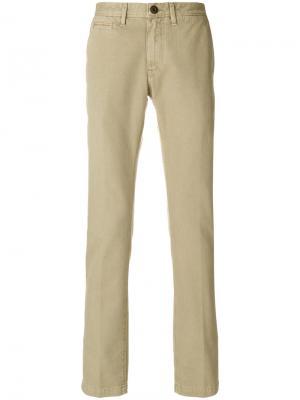 Классические брюки чинос Jeckerson. Цвет: телесный