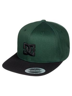 Кепка DC Shoes. Цвет: морская волна, темно-зеленый