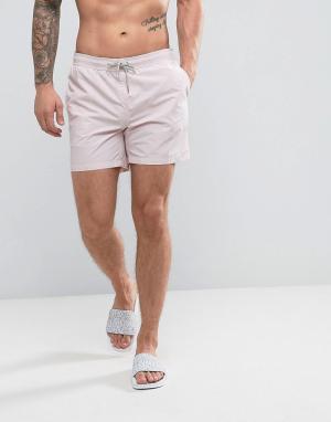 New Look Розовые шорты для плавания. Цвет: розовый