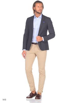 Пиджак United Colors of Benetton. Цвет: серый, черный