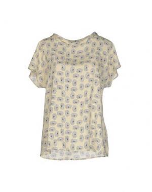 Блузка TRIXI SCHOBER. Цвет: светло-желтый