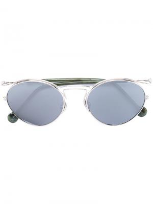 Dior Origins 1 sunglasses Eyewear. Цвет: зелёный