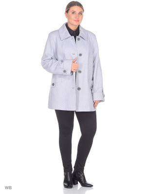 Пальто VIKO. Цвет: серый