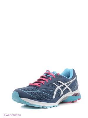 Спортивная обувь GEL-PULSE 8 ASICS. Цвет: синий, белый, розовый