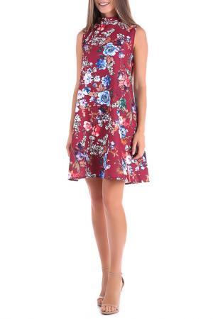 Платье Magnet. Цвет: бордовый